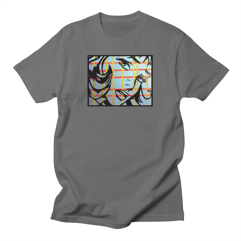 Woman 51 by Jared Haberman Men's T-Shirt by Quiet Pterodactyl Shop