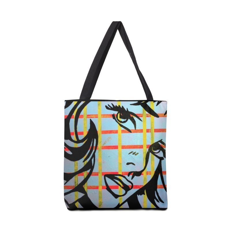 Woman 51 by Jared Haberman Accessories Bag by Quiet Pterodactyl Shop