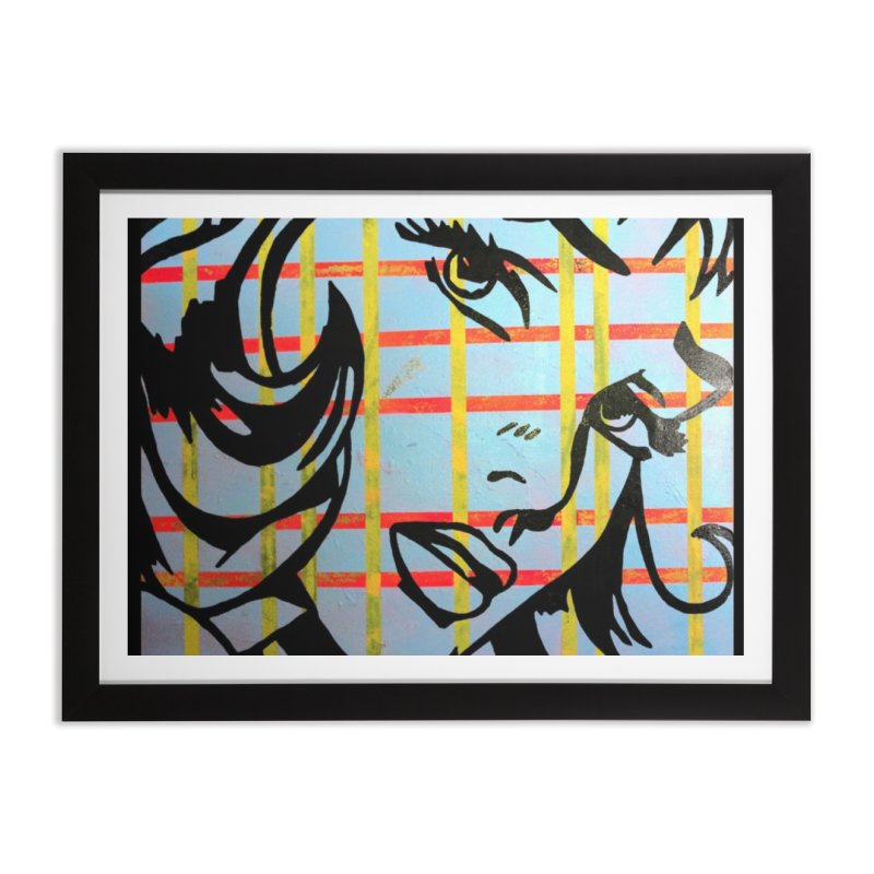 Woman 51 by Jared Haberman Home Framed Fine Art Print by Quiet Pterodactyl Shop