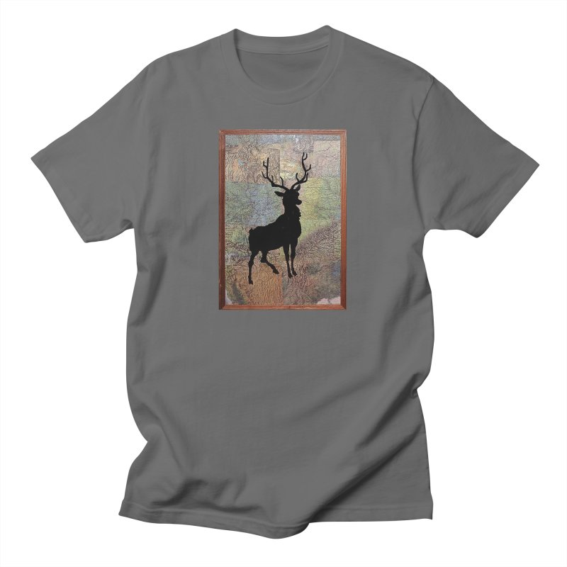 Buck 53 by Jared Haberman Men's T-Shirt by Quiet Pterodactyl Shop