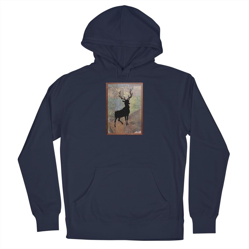 Buck 53 by Jared Haberman Men's Pullover Hoody by Quiet Pterodactyl Shop