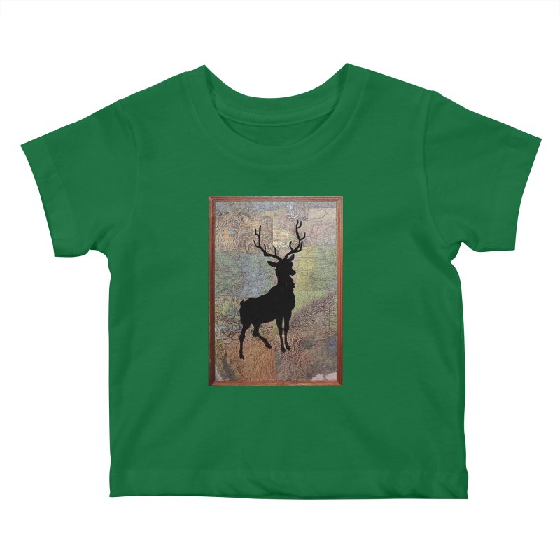 Buck 53 by Jared Haberman Kids Baby T-Shirt by Quiet Pterodactyl Shop