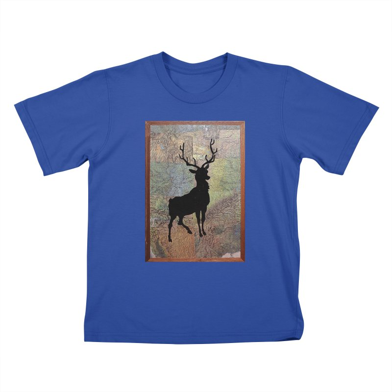 Buck 53 by Jared Haberman Kids T-Shirt by Quiet Pterodactyl Shop