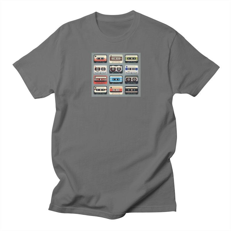 cassettes Men's T-Shirt by Quiet Pterodactyl Shop