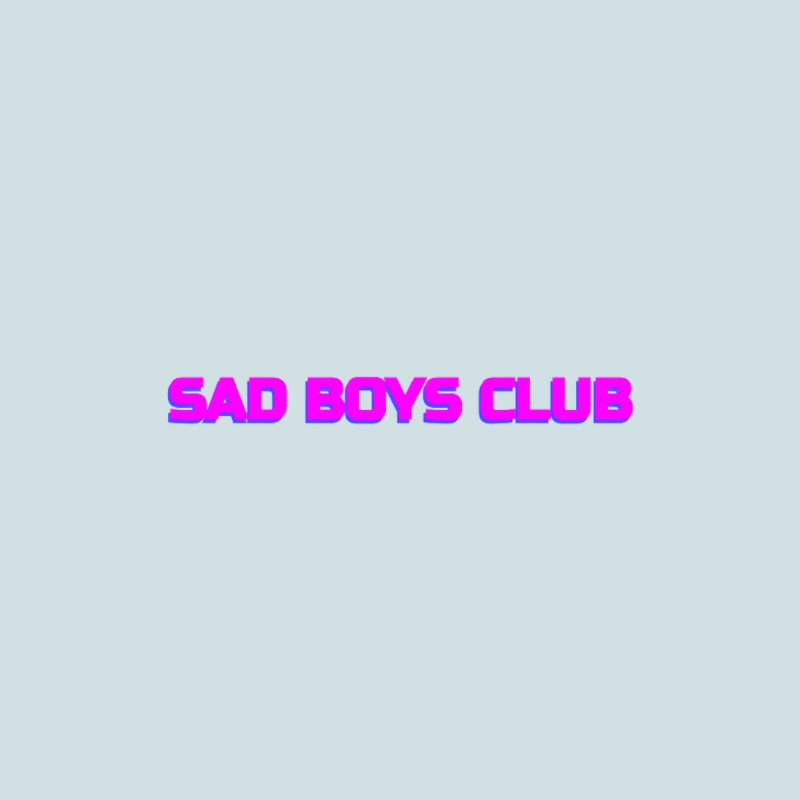 Sad Boys Club Women's Sweatshirt by Quiet Pterodactyl Shop