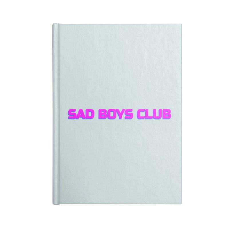 Sad Boys Club Accessories Notebook by Quiet Pterodactyl Shop