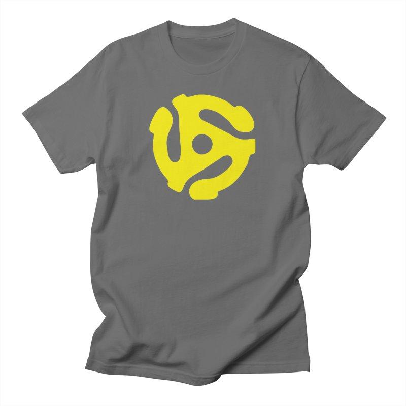 45 Adapter Men's T-Shirt by Quiet Pterodactyl Shop
