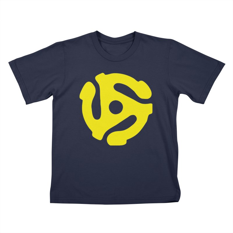 45 Adapter Kids T-Shirt by Quiet Pterodactyl Shop