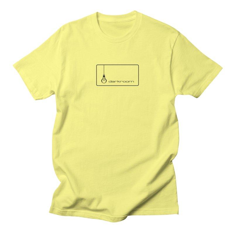 darkroom logo black - Sales END April 24th! Men's T-Shirt by Quiet Pterodactyl Shop