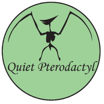 Quiet Pterodactyl Shop Logo
