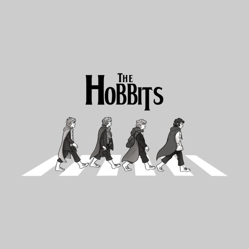 Hobbit Road Men's T-Shirt by Vanessa Stefaniuk's artist shop
