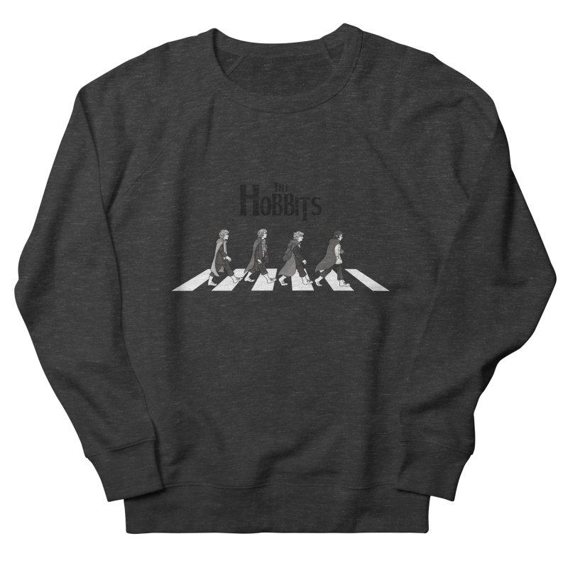 Hobbit Road Men's Sweatshirt by Vanessa Stefaniuk's artist shop