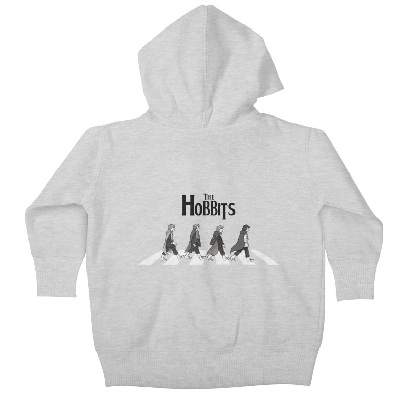 Hobbit Road Kids Baby Zip-Up Hoody by Vanessa Stefaniuk's artist shop