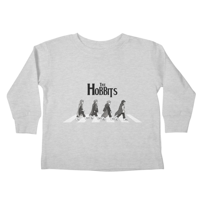 Hobbit Road Kids Toddler Longsleeve T-Shirt by Vanessa Stefaniuk's artist shop