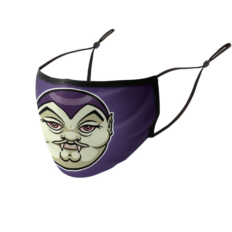 Monster : Vampire Accessories Face Mask by QuietYell's Artist Shop