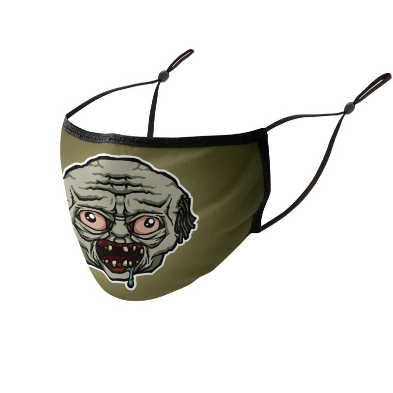 Monster : Zombie Accessories Face Mask by QuietYell's Artist Shop