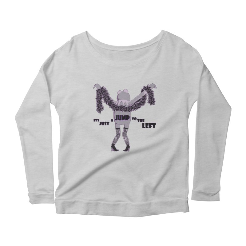 It's Just a Jump to the Left Women's Longsleeve Scoopneck  by Quillhound