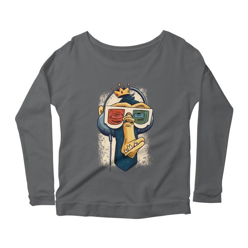 Retro King Kong Women's Longsleeve T-Shirt by Quillustration
