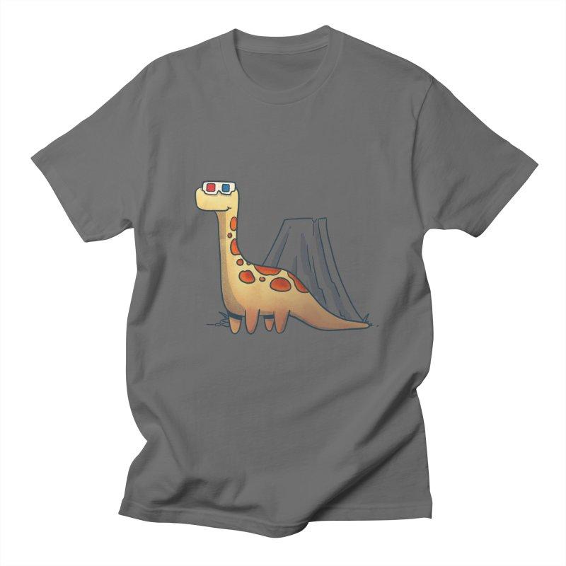 Retrosaurus Men's T-Shirt by Quillustration