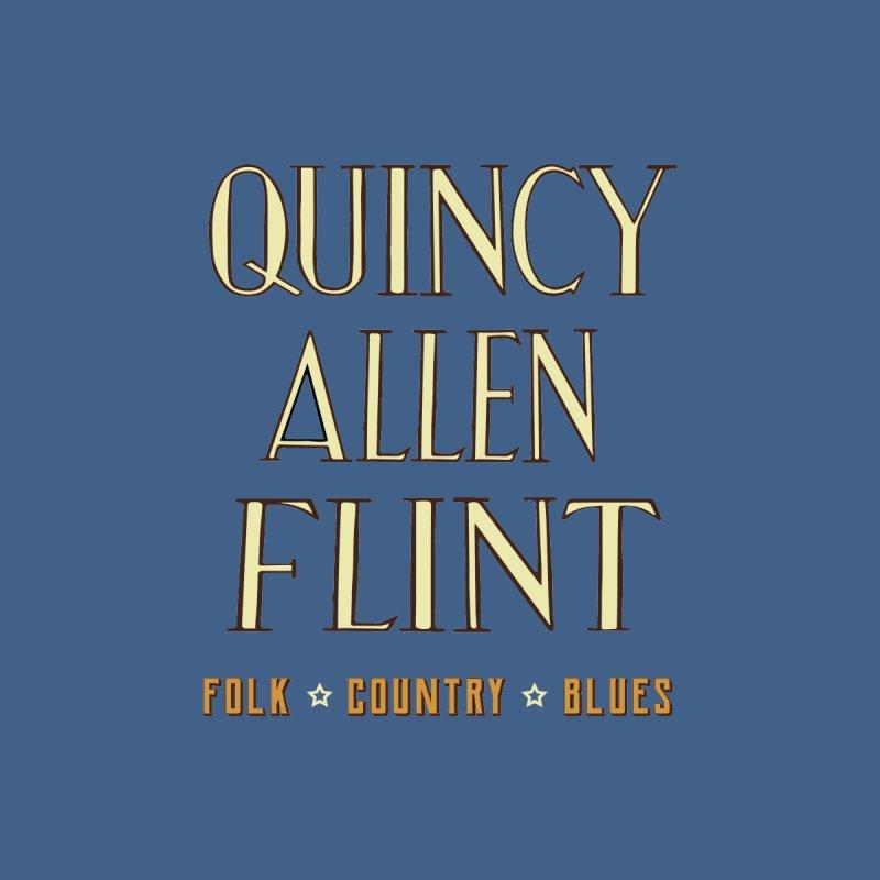 Quincy Allen Flint - Quincy Allen Flint Men's T-Shirt by Quincy's T-Shirt Shop