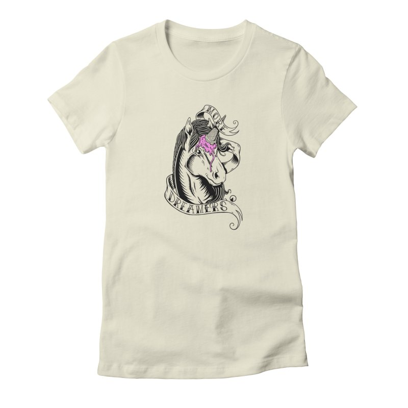 More Dreamers Women's French Terry Sweatshirt by QUINTO C Artist Shop