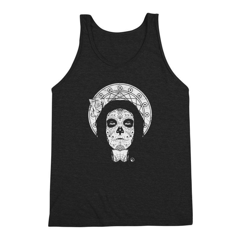 Catrina Men's Triblend Tank by QUINTO C Artist Shop