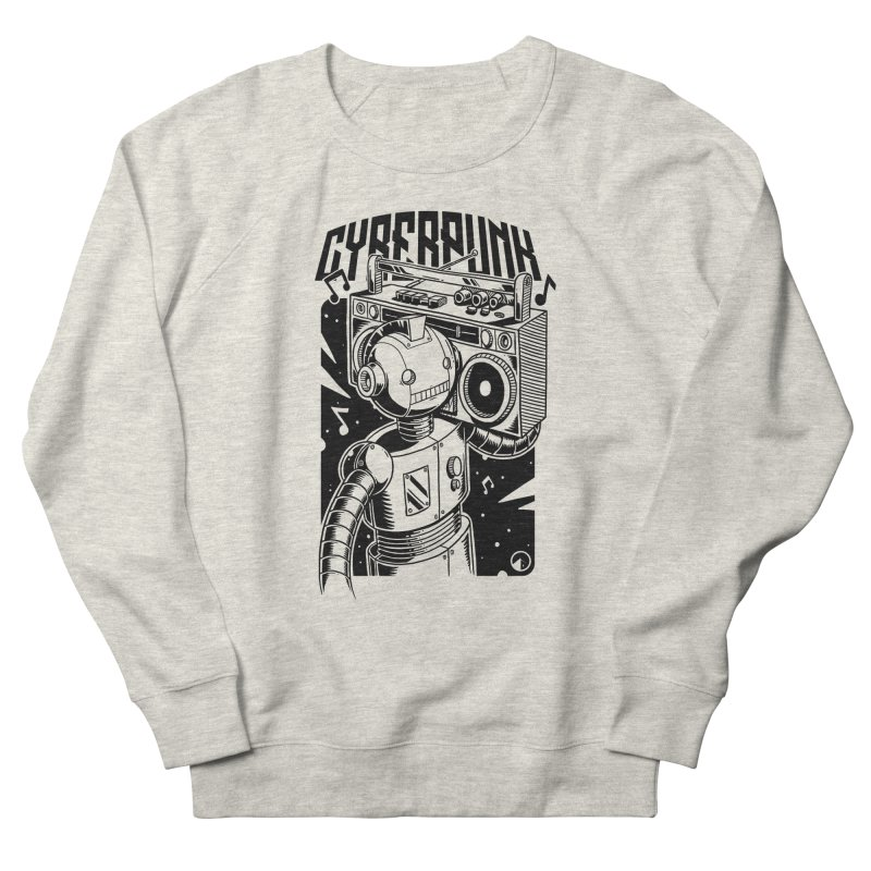 Cyberpunk Women's Sweatshirt by QUINTO C Artist Shop