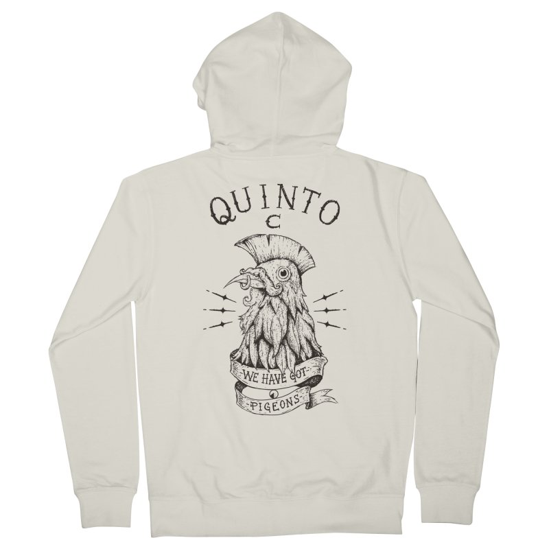 We have got pigeons Men's French Terry Zip-Up Hoody by QUINTO C Artist Shop