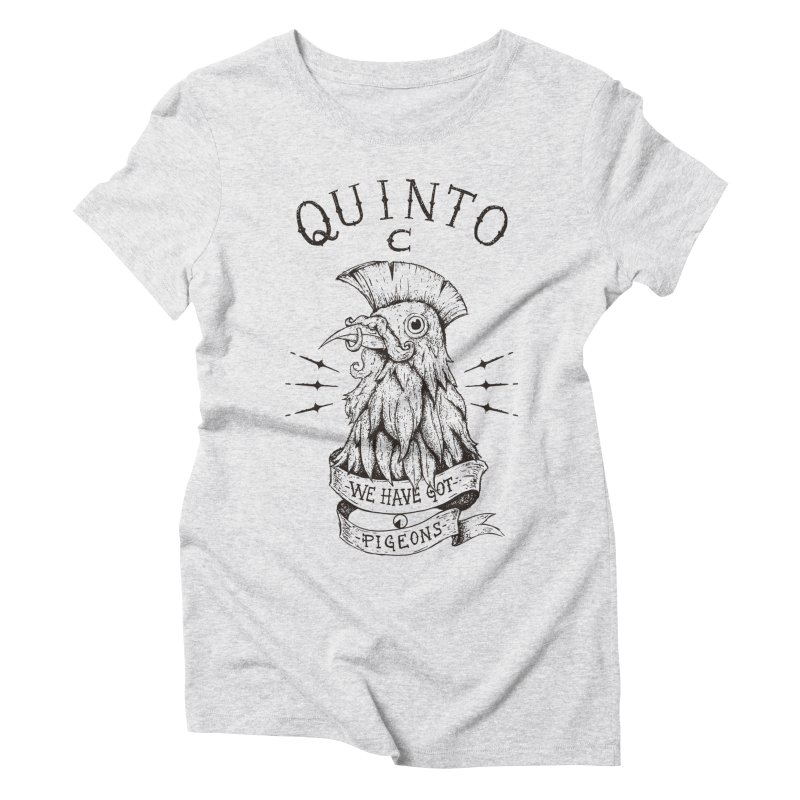 We have got pigeons Women's Triblend T-Shirt by QUINTO C Artist Shop