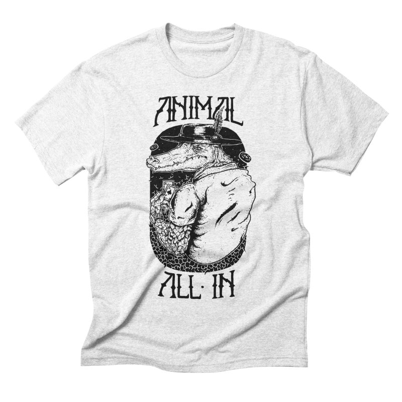 Animal All In Men's Triblend T-shirt by QUINTO C Artist Shop
