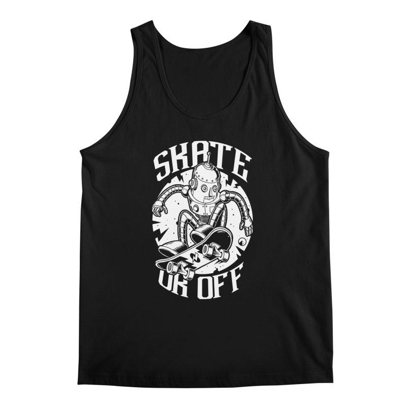 Skate or off 2 Men's Regular Tank by QUINTO C Artist Shop