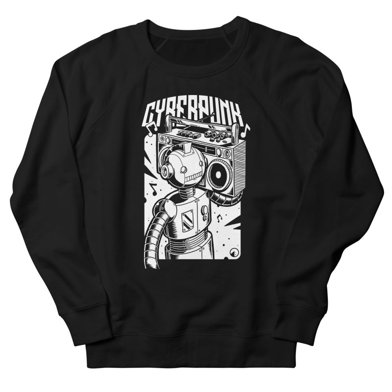 Cyberpunk 2 Men's Sweatshirt by QUINTO C Artist Shop