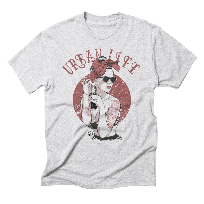 Pin Up Men's Triblend T-Shirt by QUINTO C Artist Shop