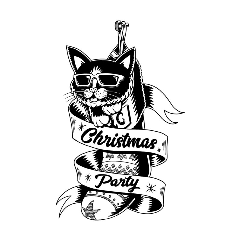 Christmas Cat by QUINTO C Artist Shop