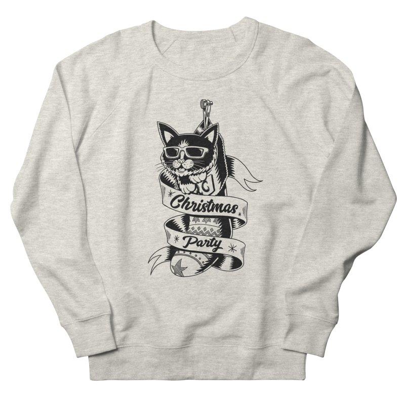 Christmas Cat Women's Sweatshirt by QUINTO C Artist Shop