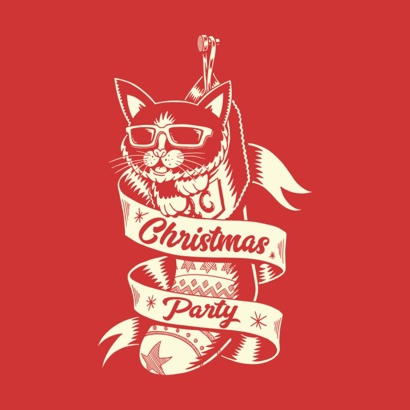 Christmas Cat 2 by QUINTO C Artist Shop