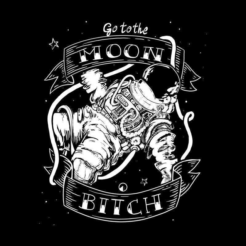 Go to the moon! Men's T-shirt by QUINTO C Artist Shop