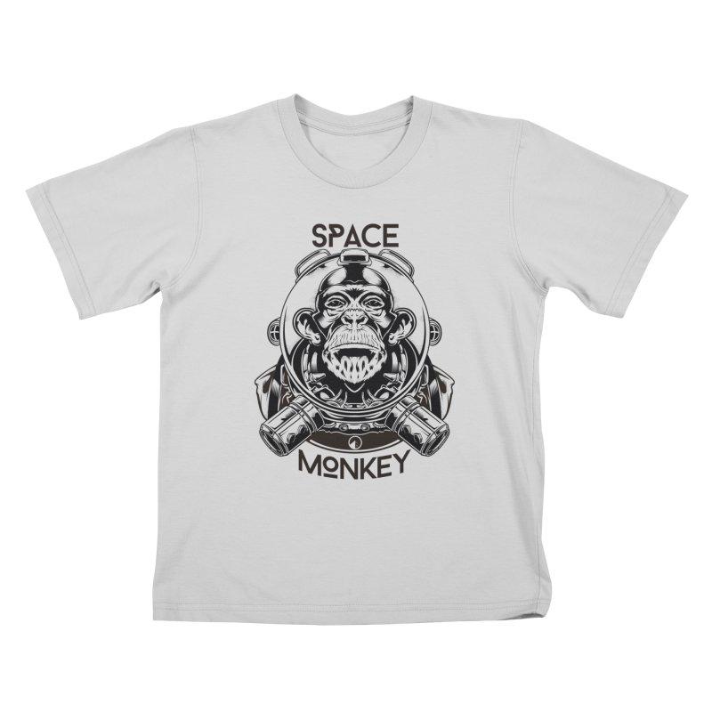 Space Monkey Kids T-Shirt by QUINTO C Artist Shop