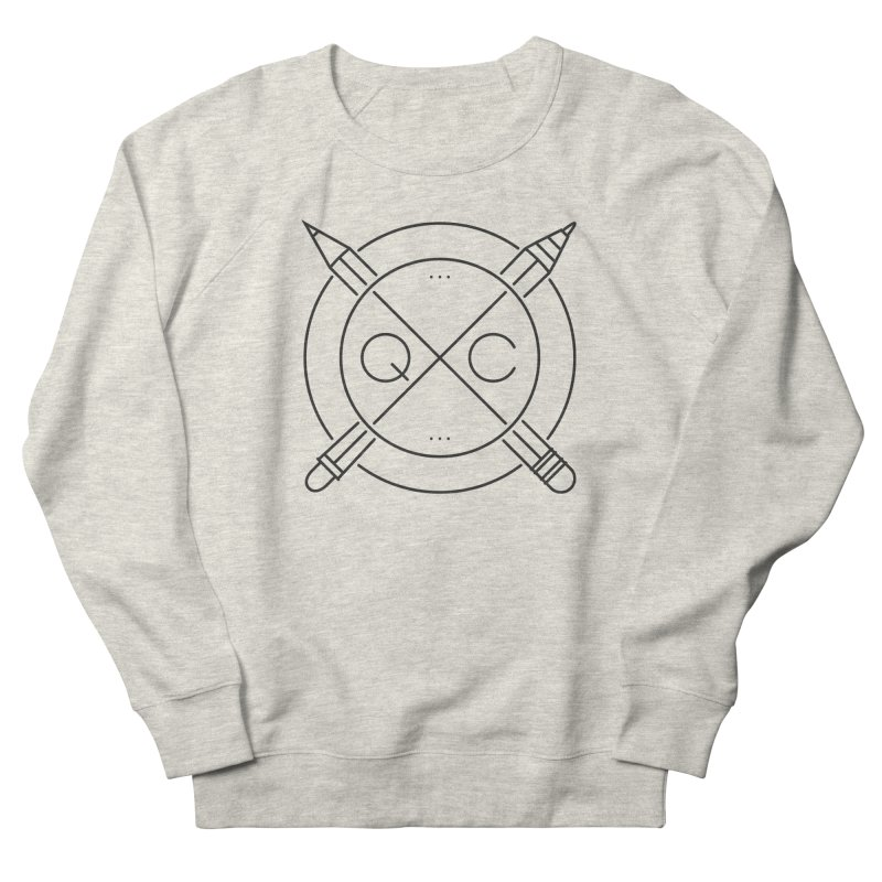 Q C Men's Sweatshirt by QUINTO C Artist Shop