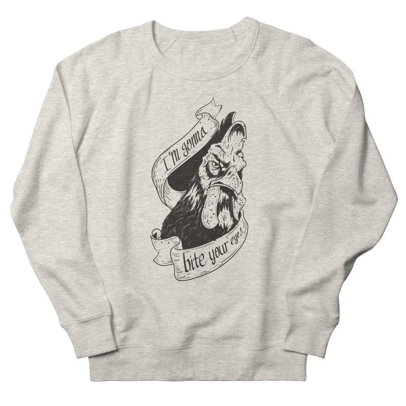 Gallo peleón white Women's Sweatshirt by QUINTO C Artist Shop