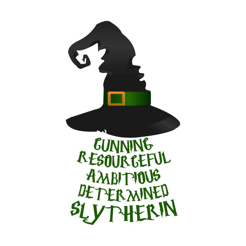 Harry Potter Slytherin Women's T-Shirt by Quirkitup's Artist Shop