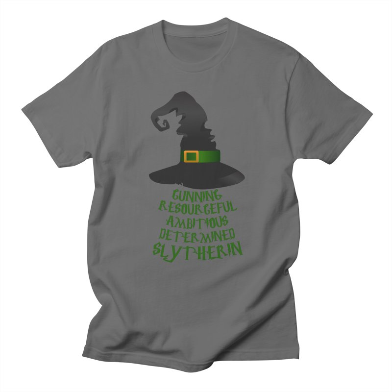 Harry Potter Slytherin Men's T-Shirt by Quirkitup's Artist Shop
