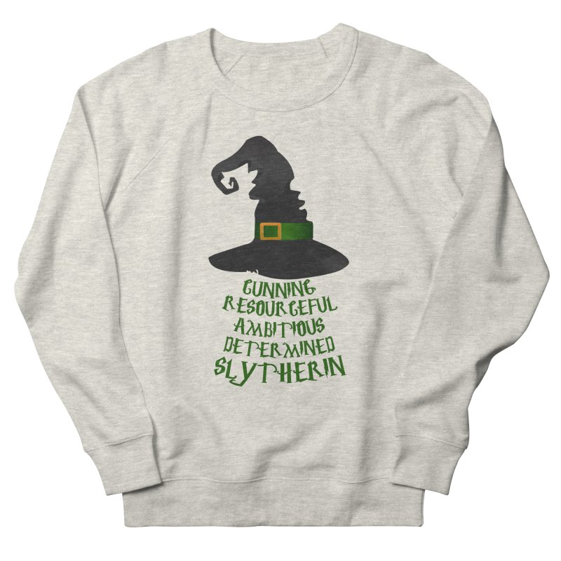 Harry Potter Slytherin Men's Sweatshirt by Quirkitup's Artist Shop