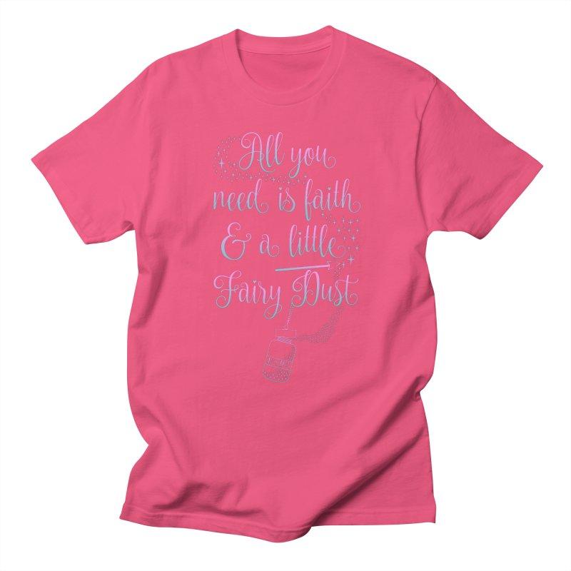 Fairy Dust Men's Regular T-Shirt by Quirkitup's Artist Shop
