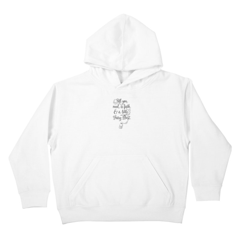 Fairy Dust Kids Pullover Hoody by Quirkitup's Artist Shop