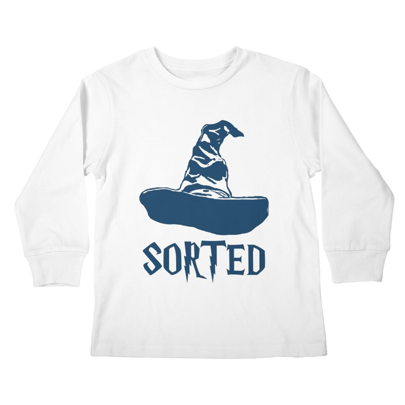 Sorted Kids Longsleeve T-Shirt by Quirkitup's Artist Shop