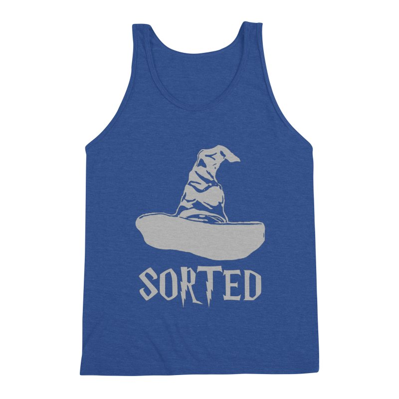 Sorted Men's Triblend Tank by Quirkitup's Artist Shop