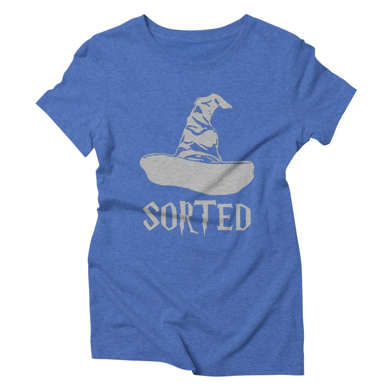 Sorted Women's Triblend T-Shirt by Quirkitup's Artist Shop