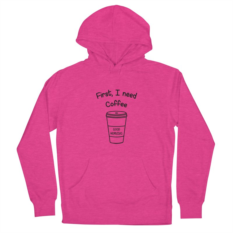 First I need Coffee Men's French Terry Pullover Hoody by Quirkitup's Artist Shop