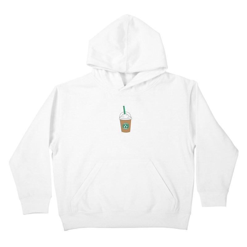 Coffee Queen Kids Pullover Hoody by Quirkitup's Artist Shop